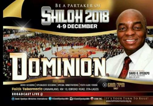 Shiloh 2018 Day 4 Evening Session today December 7, 2018
