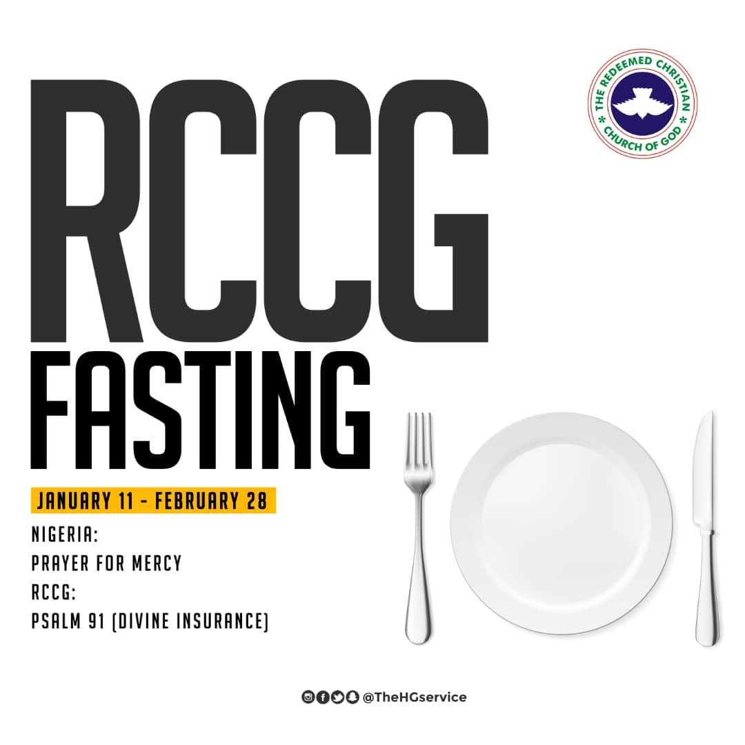 RCCG 49 Days Fasting & Prayer Points Guidelines (PDF)