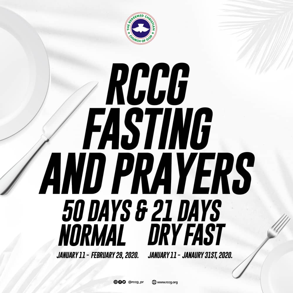 RCCG 2020 Fasting And Prayer Points for 18 January day 8, RCCG 2020 Fasting And Prayer Points for 18 January day 8, Latest Nigeria News, Daily Devotionals & Celebrity Gossips - Chidispalace