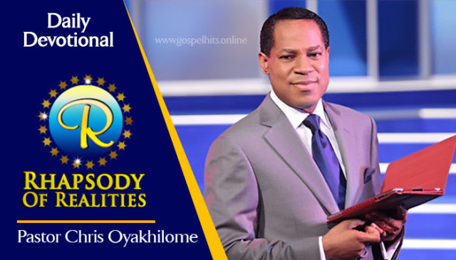 Rhapsody Of Realities 9th October 2020 - It's About Your Divine Origin by Pastor Chris Oyakhilome