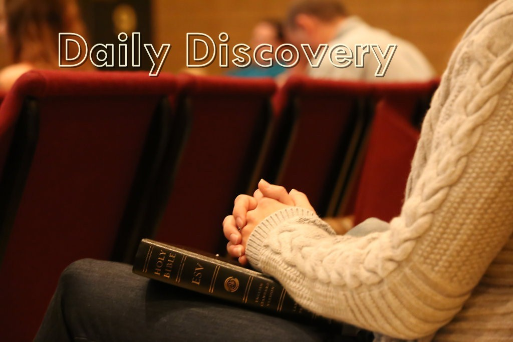 Daily Discovery 5th October 2020 Devotional - Great Joy Is Coming