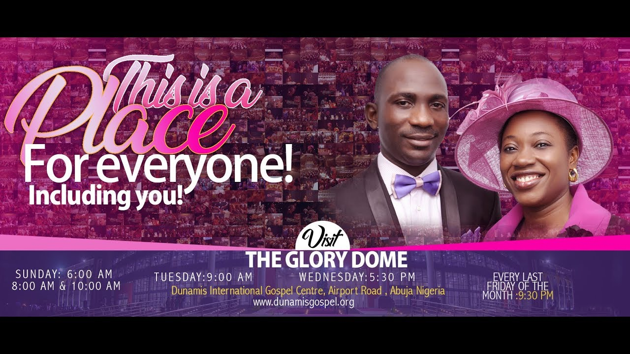Dunamis Sunday Live Service 21st February 2021 at Glory Dome