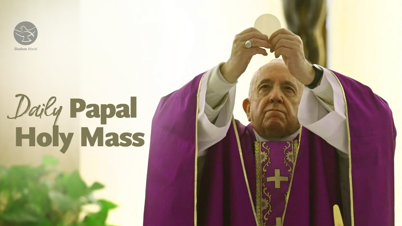 Daily Mass by Pope Francis 19th May 2020 at Vatican