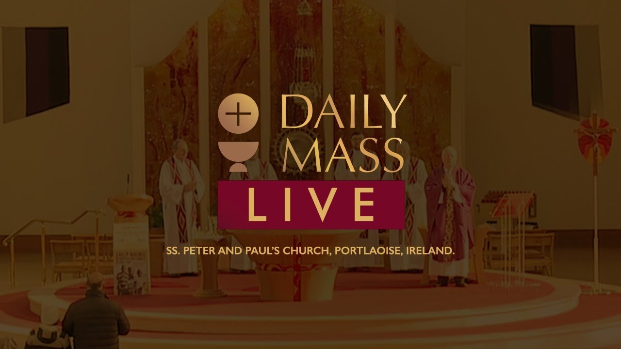 Live Holy Mass 9th March 2021 at St Peter & Paul's Church Ireland