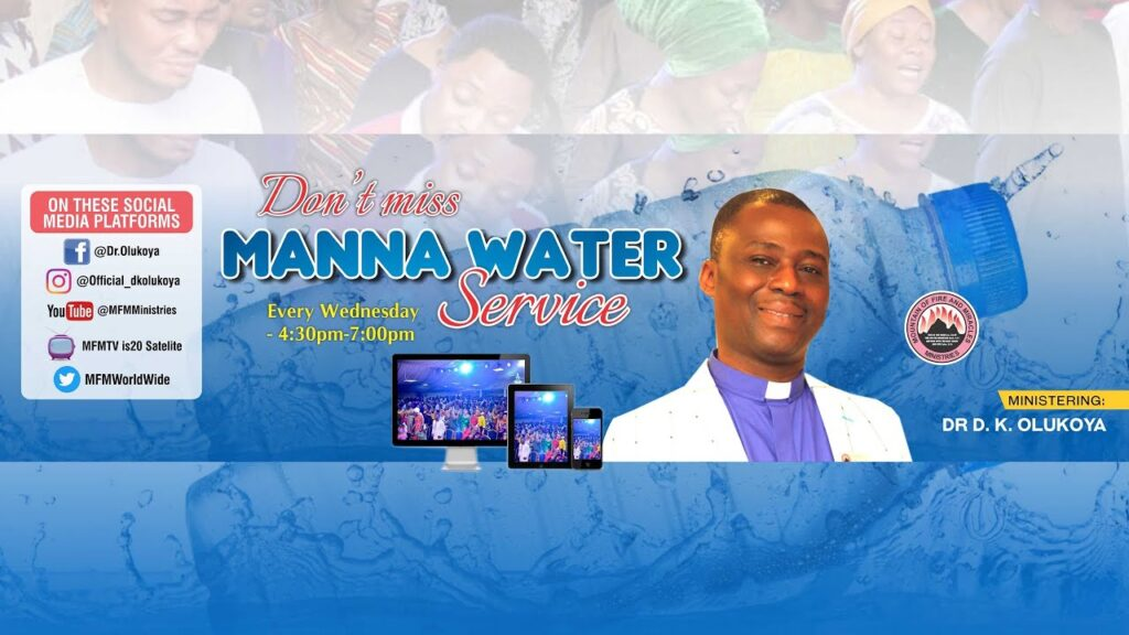 MFM Manna Water Service for 20th January 2021 with Pastor D. K. Olukoya