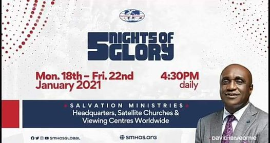 Watch 5 Nights Of Glory (5NOG) 2021 Programme Schedule, Message, Ministers Day 1