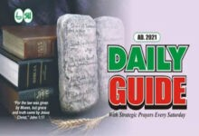 Scripture Union Daily Guide 10th March 2021 Today - God's Commandments Are Not Burdensome
