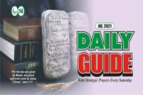 Scripture Union Daily Guide 30th January 2021 Today - God Willing
