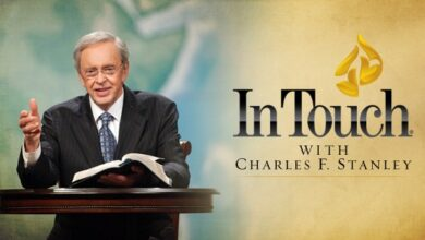 In Touch Devotional With Dr Charles Stanley 25th February 2021 - Faith: A Fixed Focus