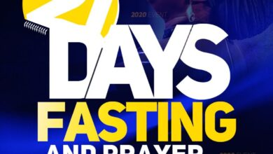 Dunamis 21 Days Fasting And Prayer Points for 14th January 2021 - Day 11