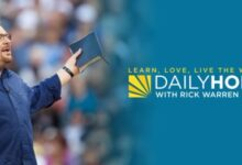 Daily Hope with Rick Warren 8th March 2021 Devotional - Praying God's Promises