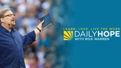 Rick Warren Daily Hope Devotional February 25th 2021 - Forgive and Forget?