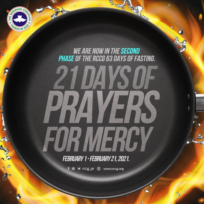 RCCG 4th February 2021 Fasting and Prayer Points Phase 2 - Day 4