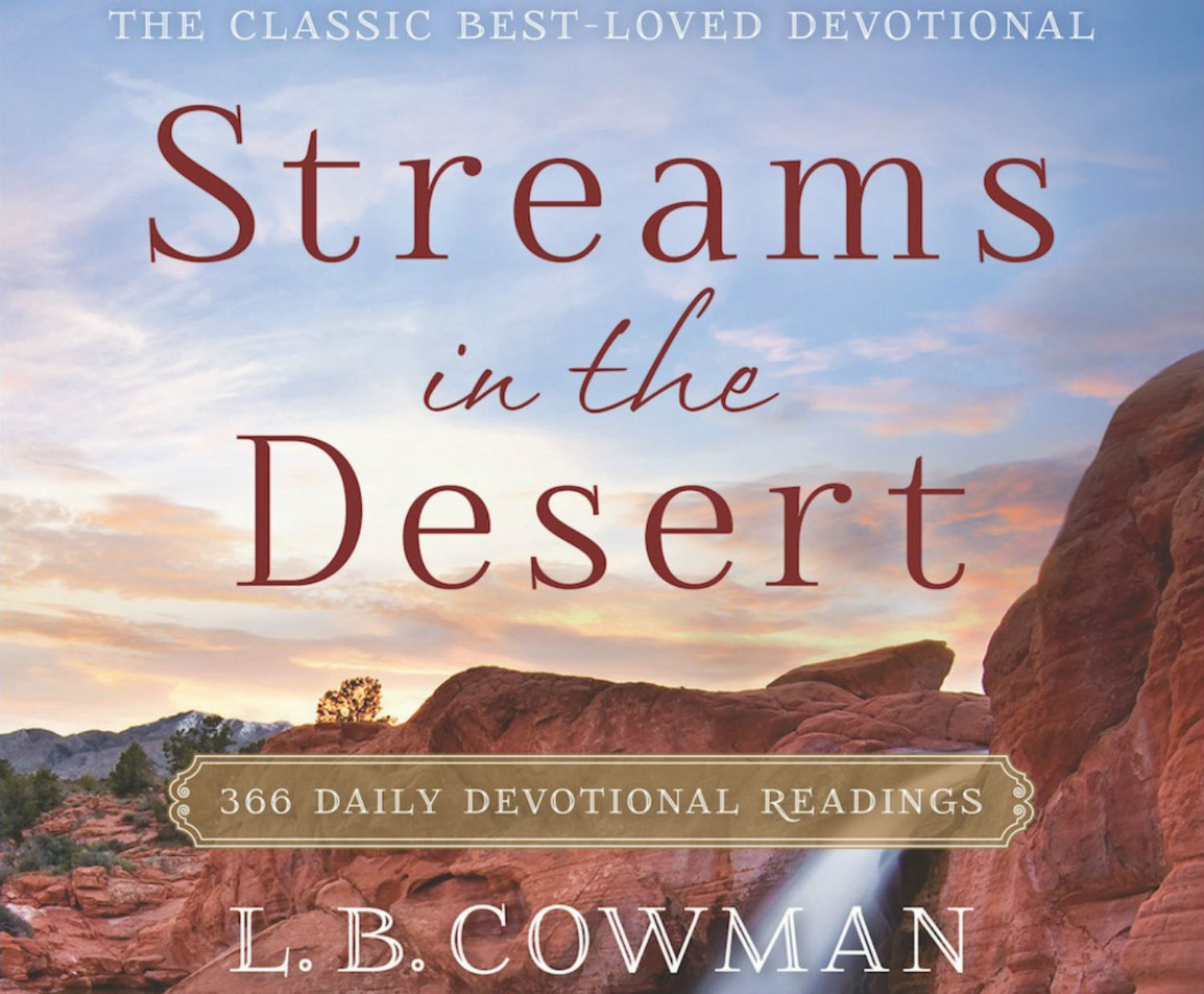Streams In The Desert Devotional For 23rd February 2021 - The Blessings of the Lion