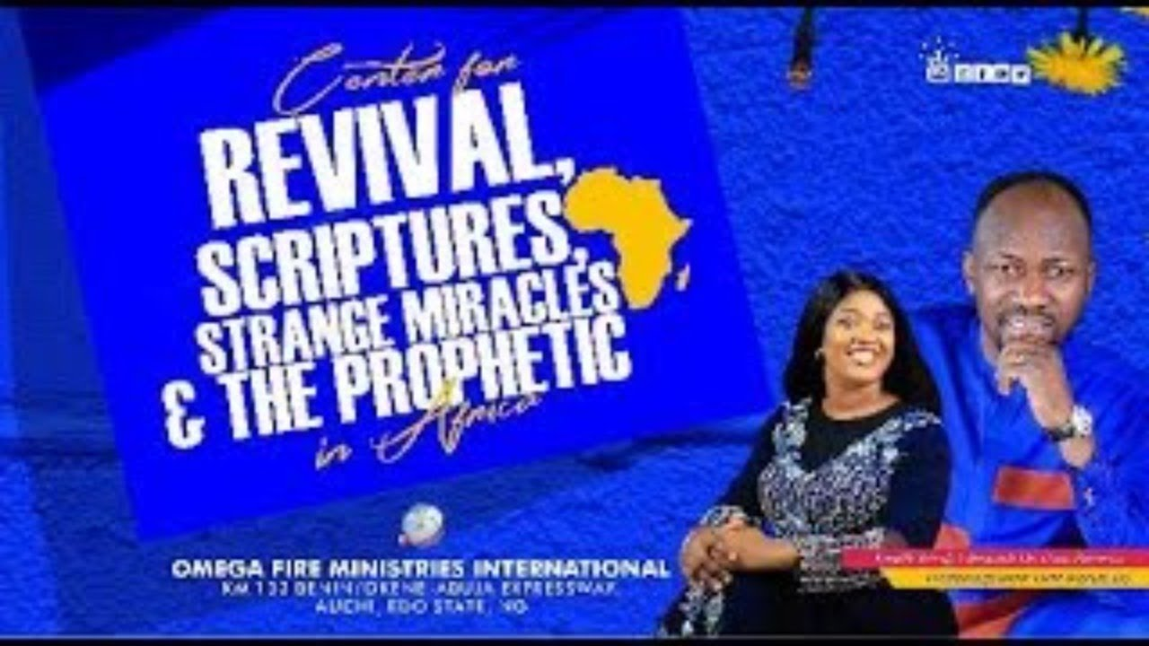 Sunday Live Service 21st February 2021 with Apostle Johnson Suleman at Omega Fire Ministries